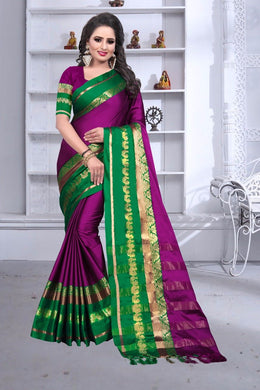 Awesome Designer Pink Color Party Wear Traditional Printed Work Saree