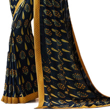 Blue Color Party Wear Bollywood Traditional Ethnic Wear Printed Saree