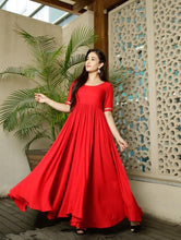 Red Gorgeous Designer Gown