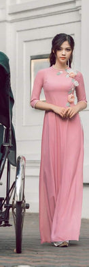 Baby Pink Color Pretty Georgette Salwar
