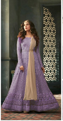 New Collection Purple Colour  Heavy Net With Embroidery Work + Stone  Salwar Suit