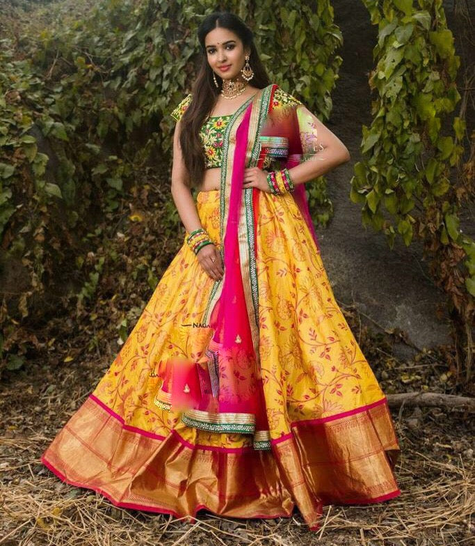 New Lengha Choli Indian Wedding Designer Lehenga Bollywood