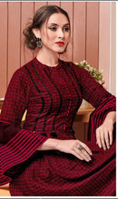 New Maroon Western Style Collection Letest Kurti X Lady Designer