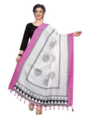 Pink Color D5 Art Silk Only Dupptta