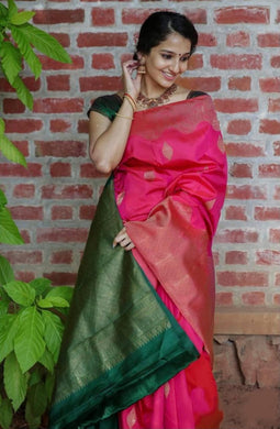 Multi Color Rich Pallu & Jacquard Work On All Over The Saree