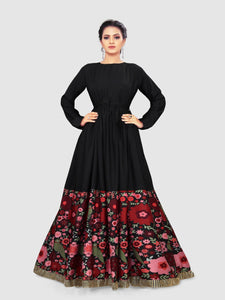 Designer Black Gown 1