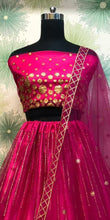 Pink Color Wedding Traditional Party Net Embroidered Lehenga Choli