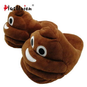 plush winter emoji slippers indoor animal furry house home men slipper with  fur anime women cosplay 36df986b3
