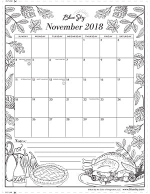 coloring calendars sector pages - photo#10