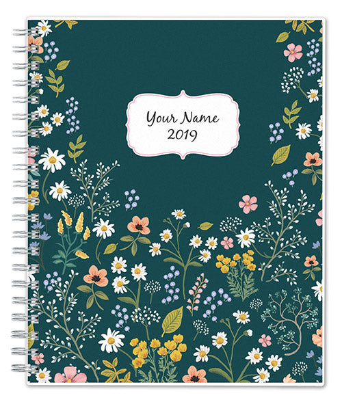 2019 personalized planners  u2013 blue sky