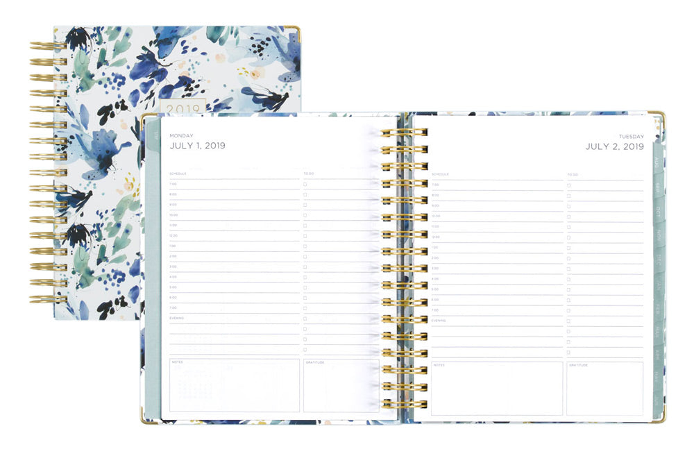 Find important pages fast with three magnetic bookmarks that coordinate with every Kelly Ventura planner design