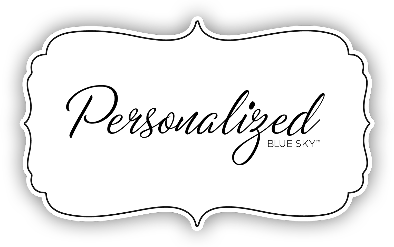 personalized blue sky