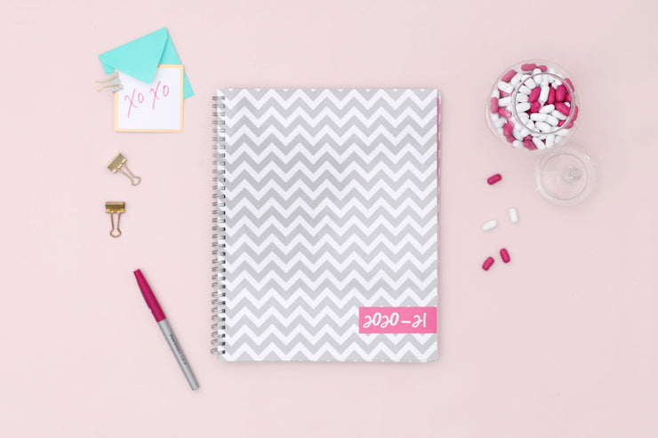 2020-2021 Ollie 8.5 x 11 Weekly Planner by Dabney Lee