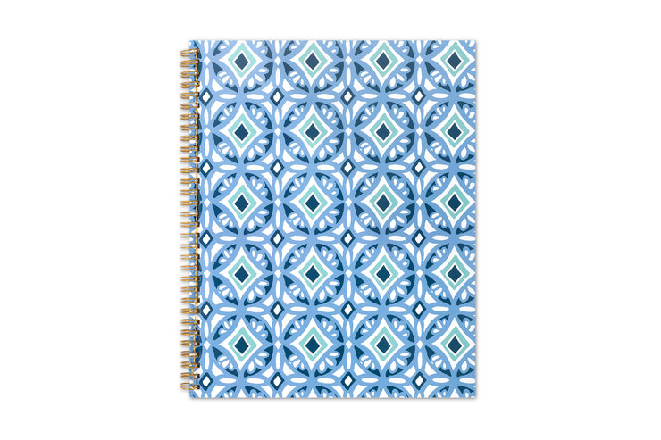 2021 Tiles 8.5 x 11 Weekly Planner Day Designer