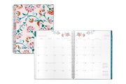 2020 planner, weekly/monthly planner, floral design