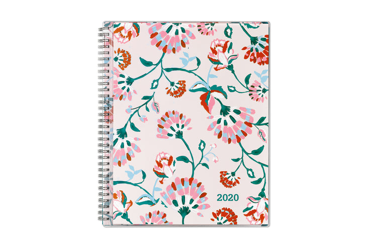 breat cancer awarenes, 2020 planner, blue sky, 8.5x11