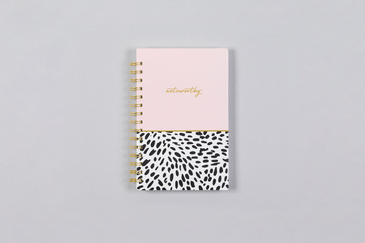 "2019 Noteworthy™ ""Animal Splash"" 5 x 8 Weekly/Monthly Planner Notebook"