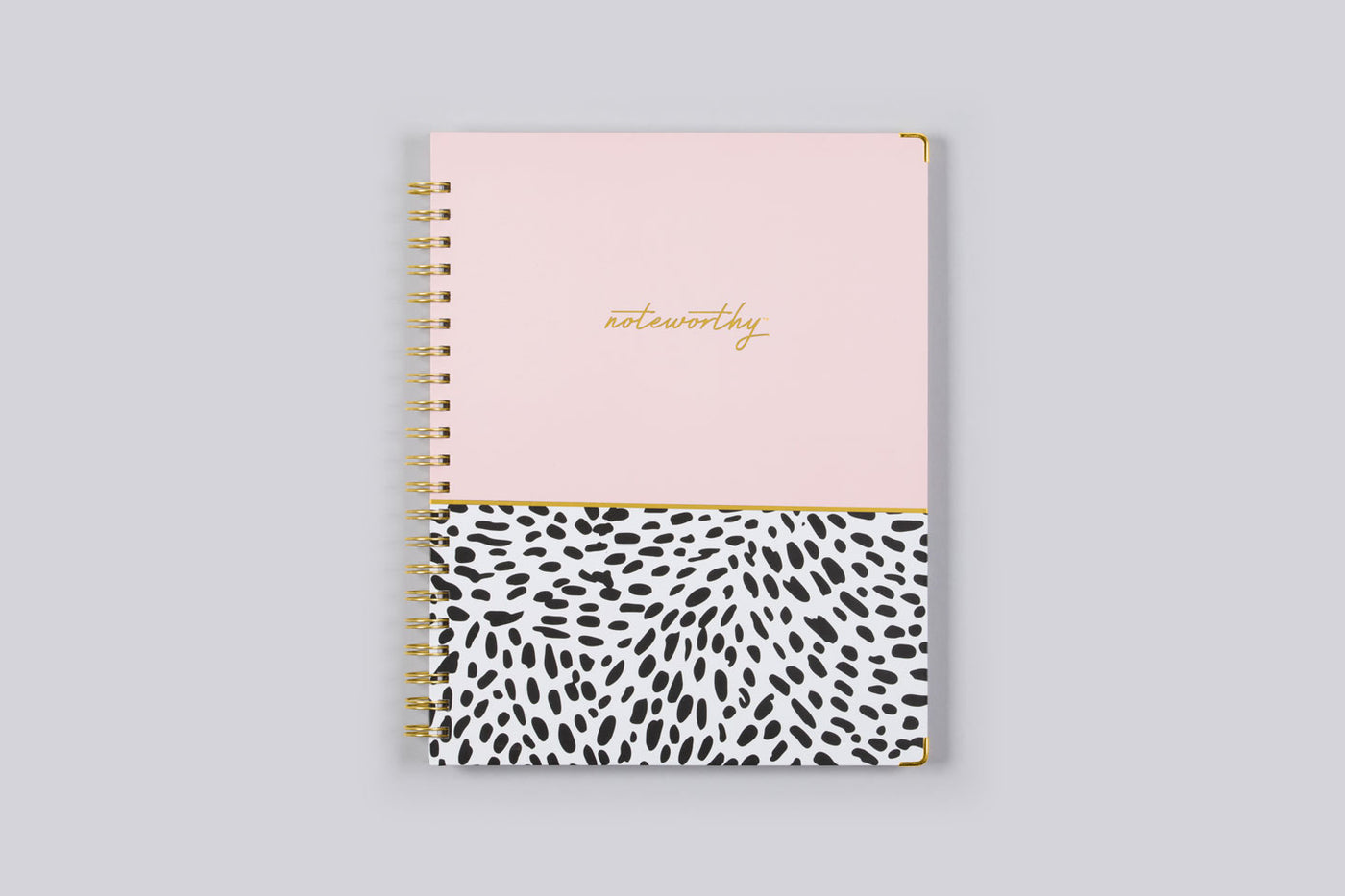 "2019 Noteworthy™ ""Animal Splash"" 8.5 x 11 Weekly/Monthly Hardcover Planner Notebook"
