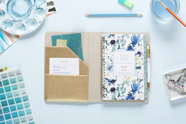 "2019-2020 Kelly Ventura for Blue Sky ""Hillside"" 5 x 8 Weekly Padded Refillable Planner"