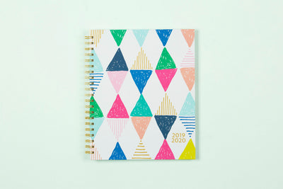 "2019-2020 Ampersand for Blue Sky ""Harlequin"" 8.5 x 11 Weekly Hardcover Planner"