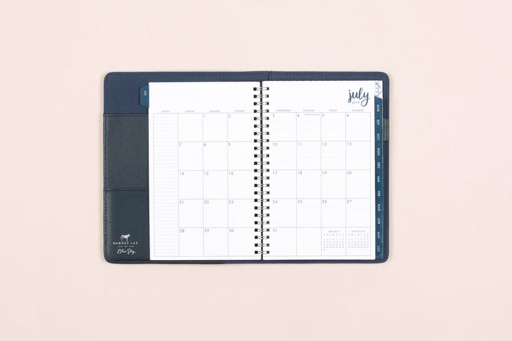 "2019-2020 Dabney Lee for Blue Sky ""Cane"" 5 x 8 Weekly Padded Refillable Planner"