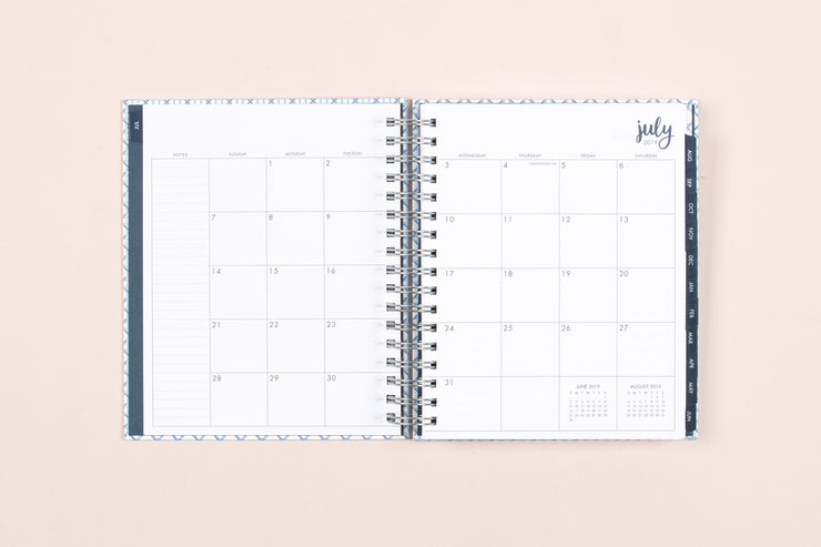 photograph relating to Hardcover Daily Planner named 2019-2020 Dabney Lee for Blue Sky \