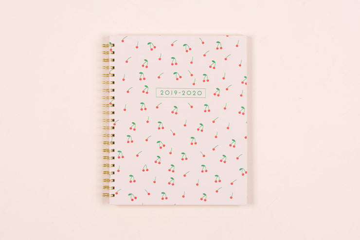 "2019-2020 Dabney Lee for Blue Sky ""Cherry"" 8.5 x 11 Weekly Hardcover Planner"