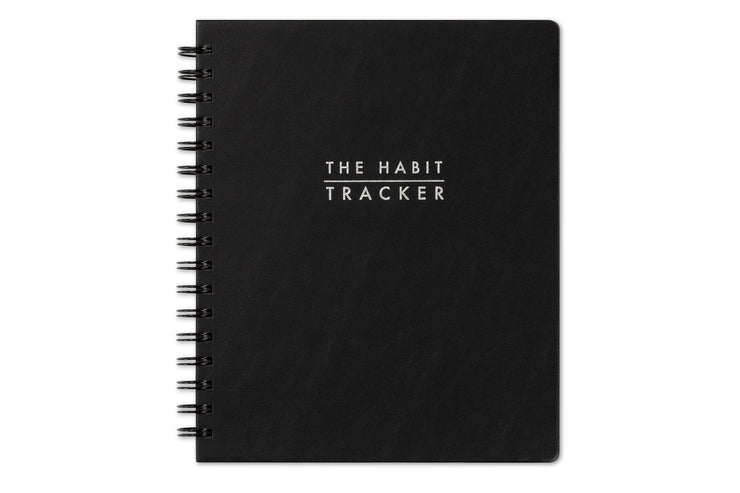The Habit Tracker Non-Dated 7 x 9 Weekly Monthly
