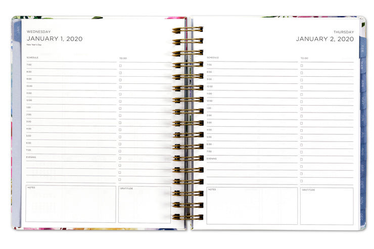 2020 daily planner by kelly ventura and blue sky