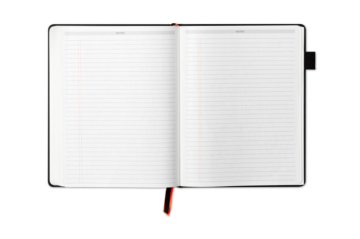 lined notes pages with ample writing space for journaling and note taking,