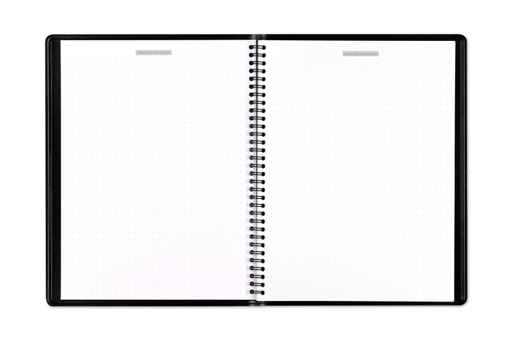 This 2020-21 Aligned appointment book by Blue Sky features notes pages in bullet journal style format in 8.5x11
