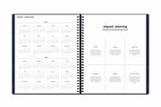 2021 9 x 11 monthly planner with a yearly overview for 2021 and 2022