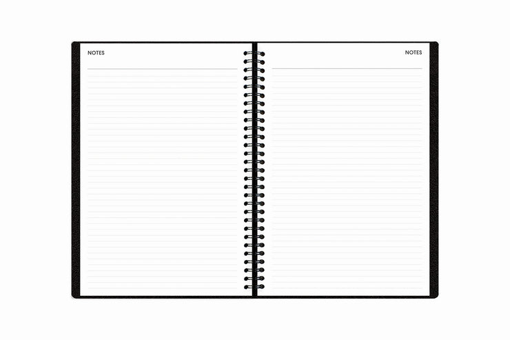 Blue Sky Lined Notes pages in 5.875 x 8.625 for lots of writing space