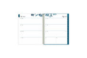 2021-2022 weekly monthly 8.5x11 academic planner featuring a weekly spread with ample lined writing space, to-do list, notes section, and blue monthly tabs