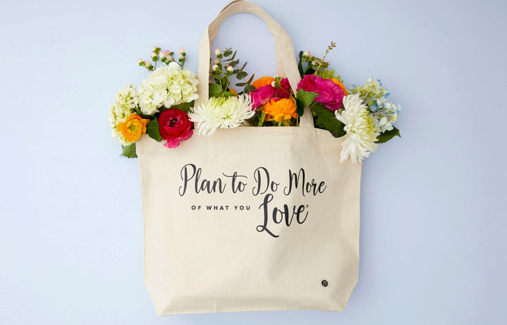 More of What You Love Canvas Tote Bag