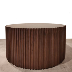Mesa redonda de parota- Round coffee table*