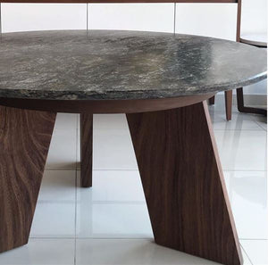 Mesa de Aletas Cubierta de Granito / Fin Table with Granite top*