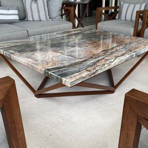 Mesa De centro cubierta Marmol/ Coffee table marble top