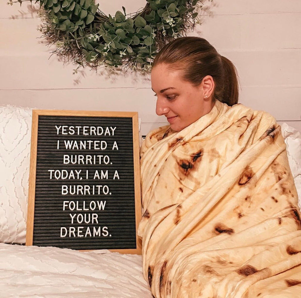 How to Use The Burrito Blanket