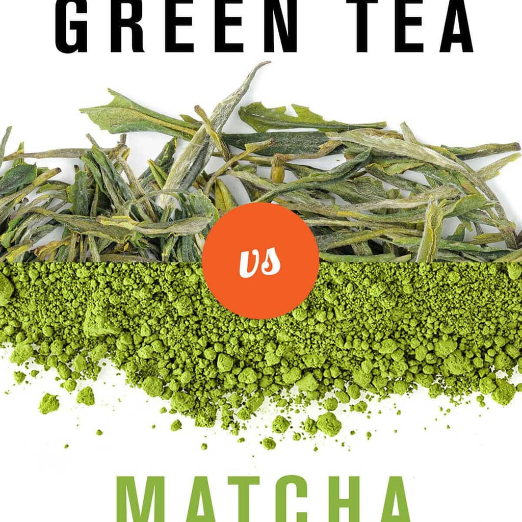 Matcha Tea Powder vs Green Tea Leaves
