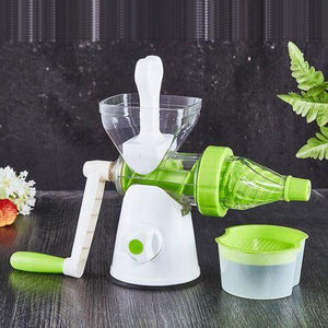 Manual Juice Machine With Control Knob | Nutritional Juice Blender
