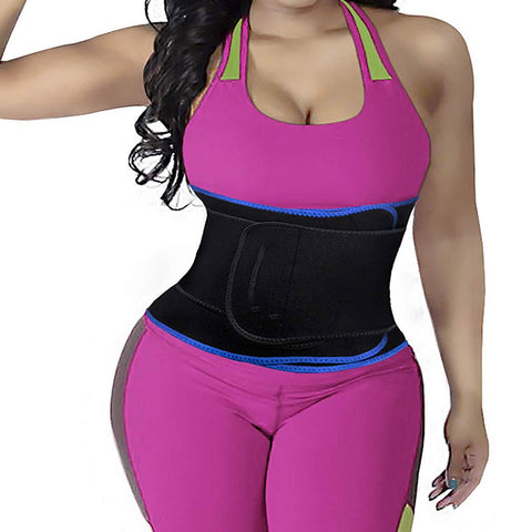 Image of NEW And HIGH-GRADE Double-Layer Pressurized Sweats-Absorbent Waist Trainer Belt