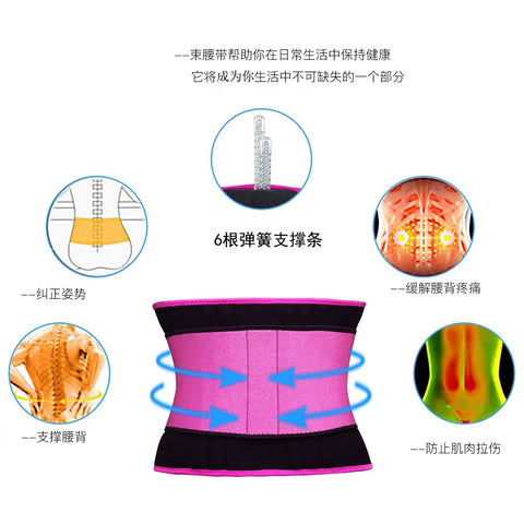 NEW And HIGH-GRADE Double-Layer Pressurized Sweats-Absorbent Waist Trainer Belt