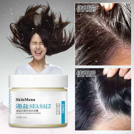SKINMENU Sea Salt Anti-Dandruff Shampoo | Hair Care Shampoo