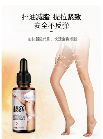 Image of CLOTHES OF SKIN Slimming And Weight Loss Oil   Fat Burning Massage Oil