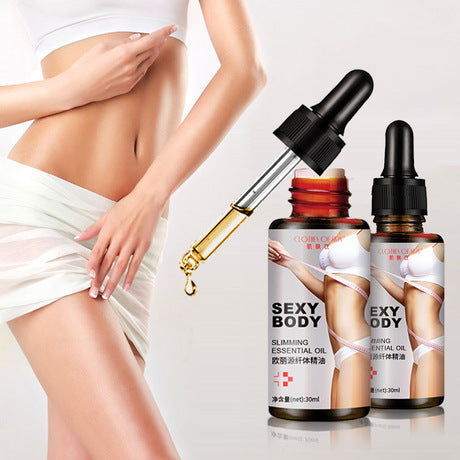 Image of CLOTHES OF SKIN Slimming And Weight Loss Oil | Fat Burning Massage Oil
