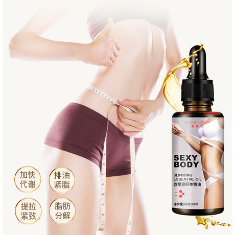 CLOTHES OF SKIN Slimming And Weight Loss Oil | Fat Burning Massage Oil
