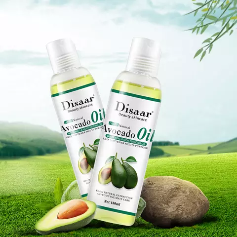 Image of DISAAR 100% Natural Avocado Body and Hair Oil