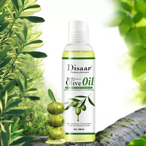 DISAAR 100% Natural Olive Body and Hair Oil