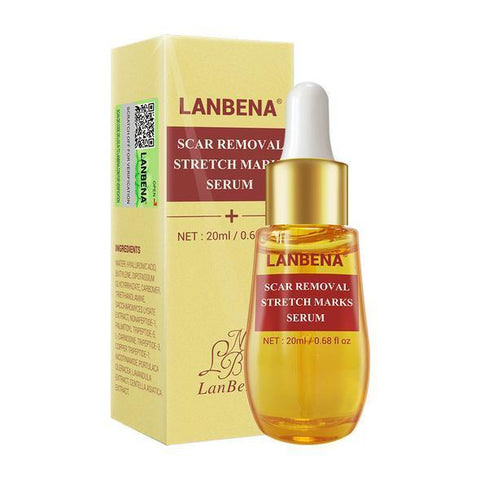 LANBENA Scar, Stretch Marks And Acne Removal Serum | Skin Repair And Whitening Oil
